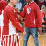 Good to have Devin Davis back in Assembly Hall tonight #iubb #GoIU http://t.co/GEvZL4916r