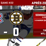 Les Canadiens mènent 1-0 après 20 minutes. / #Habs lead 1-0 after 20 minutes. #GoHabsGo http://t.co/toWDTFITlf