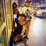 This guy just made my Saturday night.. He was singing the #GoodOlHockeyGame in his vintage #Leafs jersey. #TMLtalk ???? http://t.co/GZM2uKl8mc