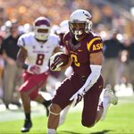 Happy birthday to @ASTATE_8 who had 3 TDs today and has caught a pass in all 38 of his career games #FearTheFoster http://t.co/UvmKJRkqwV