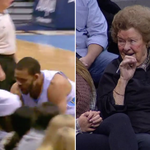 VIDEO: @JaValeMcGee34 chased a ball into the stands and gave a lady a kiss on the cheek http://t.co/6InjvOet8y http://t.co/NLxNgFQfnc