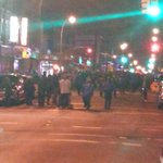 Protesters take to Brooklyn streets for unarmed man shot by police @pix11news http://t.co/qXc4zWz2uc