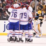 2 celebrations for the #Habs, 0 for the #NHLBruins. #MTLvsBOS http://t.co/MRo6QsZXQL