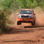 Team @MahindraAdvntr s @Gillracing & Musa Sherif seal 2014 Indian Rally title in style by winning the K1000 rally. http://t.co/nmAgPtmIKj