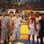 captainluzs photo Laoag game about to start now!! #DJPInvadesIlocosNorte @imdanielpadilla @Estrada21Karla http://t.co/Hzd4jPwy2G