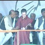 Congress President Sonia Gandhi to address a rally shortly in Daltonganj (Jharkhand) http://t.co/VFPvTWRFz0