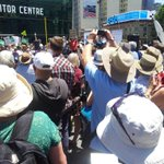 Melbourne Rally to Save #OurABC from ideologically driven fools under instruction from Rupert Murdoch #nofibs #auspol http://t.co/4iytvHoZR3
