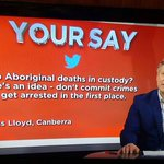 Heres a thought @channelten: stop enabling racism. #auspol #boltreport http://t.co/tGgEWV4f1F