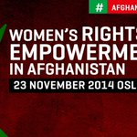 We look forward to welcome @Georgetown @MelanneVerveer to #AfghanWomenOslo Symposium today – FM @borgebrende http://t.co/3Q9U0ZzmvQ
