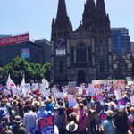 Big thumbs up to all who made todays #ourabc rally in Melbourne so great @CPSUnion @mediaalliance http://t.co/QXcUO0N1WH