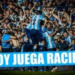 #HoyJuegaRacing, hoy el partido lo jugamos todos. #Racing. #HoyExplotaElCilindro, #VamosRacing. http://t.co/jiaHN3PCJB