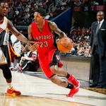 Behind @TeamLou23s career-high 36p, the @Raptors defeat @Cavs 110-93 & improve to NBA-best 11-2 record! http://t.co/rl89EYQ3u5