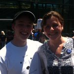What a rally! Young and old turned up to #SaveOurABC Thanks Matt for coming along! http://t.co/kahCAgthX7