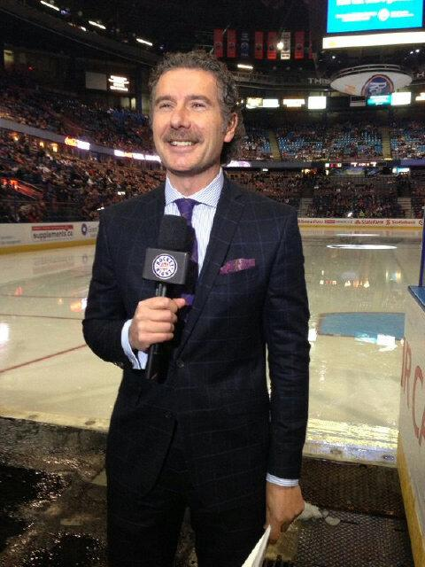 Gene Principe (@GenePrincipe): Hockey players dream of playing on Hockey Night in Canada. Broadcasters dream of working on HNIC.#27yearwaitover http://t.co/KDB7tTy8DT