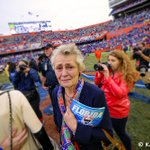 Broke my heart seeing her clutching that Florida #Gators program #UFvsEKU http://t.co/R9hIPb2cNC