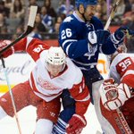 Toronto Maple Leafs win 4-1 against Detroit Red Wings http://t.co/Yv0xTxpRnE http://t.co/ucE646ywwN
