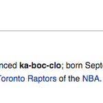 Raptors fans appear to be lukewarm on this Bruno guy. http://t.co/RuQw6KsGXL