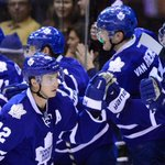 Leafs defeat Red Wings, salute crowd. Game story here: http://t.co/S4R3tFU5Jr #NHL #TMLtalk http://t.co/81q6s22HuD