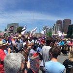 So many people from so many walks of life at today's #SaveOurABC rally http://t.co/i5q81YI8av