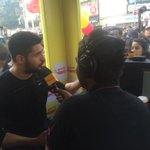 And he's here @Actor_Siddharth!!! Come to @EqualStreets now!!! #MirchiHotspot http://t.co/dihonatrwc