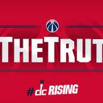 #TheTruth! Season-high 23p after that big corner 3!. #Wizards up 102-91, 3:38 left #WizBucks http://t.co/abHf8UwGSl http://t.co/jEIkT9lPtW