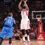 Huge night from @JHarden13 w/ 32-8-4 & 2 stl as @HoustonRockets hang on to defeat @DallasMavs in a good one, 95-92. http://t.co/BLZR91UtIJ