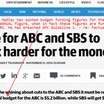 @vanbadham @mackaysuzie @mediaalliance Van. Pls help out with this? Hadleys lies re #OurABC https://t.co/zfcGw4VDtH http://t.co/etd6jKYg41