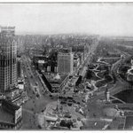 Looking Down on Columbus Circle in 1924 - Photo by the Brown Brothers | #NYC #NY http://t.co/FLCAOE2sLK