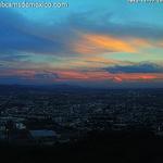 Un ligero toque de color en el cielo de #León #Guanajuato hoy al atardecer. Vía @PlazaMayorLeon http://t.co/EuDY5RkNtF