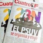 Aquí tienen el número uno del Periódico del @PartidoPSUV que circulará Domingo 23-N.búscalo y compártelo con tod@s. http://t.co/H7OlaTdVsJ
