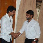 Happy birthday to our beloved director Chimbudeven sir.. Best wishes from #Vijay58 Team :) http://t.co/2NdhjmGCRZ
