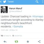 Meanwhile #ManderaBusAttack was happening this was what kept KDF aka charcoal merchants busy .. #Somalia http://t.co/EAphX8T2Kt