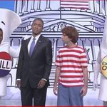 SNLs Obama Shoves The Schoolhouse Rock Bill Down The Capital Steps http://t.co/GoMVqF8WRd (VIDEO) #SNL http://t.co/0jOjJibOr6