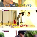 """#SongJaeRim Smiles Upon Seeing #KimSoEun In A Wedding Dress on """"We Got Married"""" http://t.co/edG5wuxXyu http://t.co/0Ot3i6bShS"""