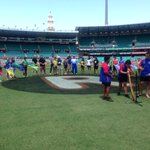 Today we show our support for #SocialInclusionWeek2014 and @RecogniseAU at the #SCG #AUSvSA #Asportforall http://t.co/swxnzsdc8e