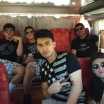 On our way to Laoag Centennial Arena ???????????? @imdanielpadilla @imneilcoleta @RAYVERCRUZ20 @YoungJVofficial @imjonlucas http://t.co/TwNkgxNylS