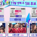 HI SUHYUN wins their 1st ever trophy on todays episode of Inkigayo! Congrats to them~ http://t.co/rkKNkWJXak