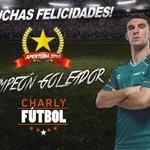 .@mauroboselli con #TenisCharly líder de goleo en el #Apertura2014 en la #LigaMX ¡Eres un orgullo, campeón! http://t.co/MgGPX2JIUk