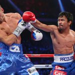 Manny Pacquiao is taking over. Pacquiao knocks down Chris Algieri twice in Round 6. #PacquiaoAlgieri http://t.co/oMlnviLpS8