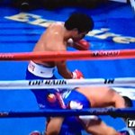 Two knockdowns for Pacquiao in the sixth round. http://t.co/CeFoXA4dBU