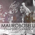 Felicidades @mauroboselli !! :) eres un gran jugador y una excelente persona!! gracias x todo! http://t.co/xch158NmbB