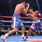 Its over! Manny Pacquiao destroys Chris Algieri by unanimous decision and retains WBO Welterweight title. http://t.co/fRFJeqRYl1
