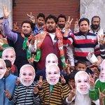 Modi Fever in J&K&L with Modi Masks campaign #BJP4JammuKashmir #ChaloChaleModiKeSaath http://t.co/rT7PUcPSPf