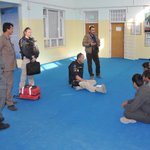 Scenario based training in Mazar-e Sharif, #Afghanistan - see the latest story from #EUPOL at http://t.co/DlCTenh3PK http://t.co/uPWN4Ix5sQ