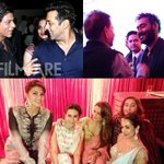 Exclusive:  Inside pictures from Arpita Khan's wedding reception.  Click here: http://t.co/1WtKPW72Br