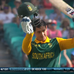 """""""Hes been the star today at the @scg for @OfficialCSA. Well done to De Kock!"""" - @mj_slats. #AUSvSA #WWOS http://t.co/GD7qa5Xx6E"""