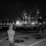 Parte de lo que no te mostraron el #20NovMx #YaMeCanse #AccionGlobalporAyotzinapa #MeDuelesMexico http://t.co/RavXtpUffm