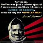 #MufflerMan symbol of Honesty http://t.co/a9v7EqSz36