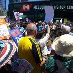 Full deck! I love my ABC! #Melbourne Rally #OurABC #nofibs http://t.co/5jimwB5XHX