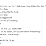 Too lazy to read the bible? Here it is summarized in one image http://t.co/RFihllL9jT